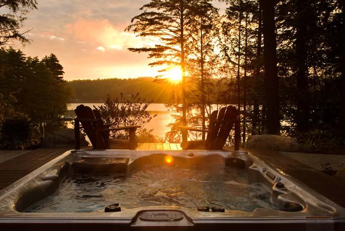 Friends Lake Sunset