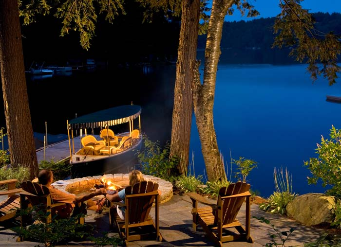 lakeside Adirondack hotel - Fern Lodge