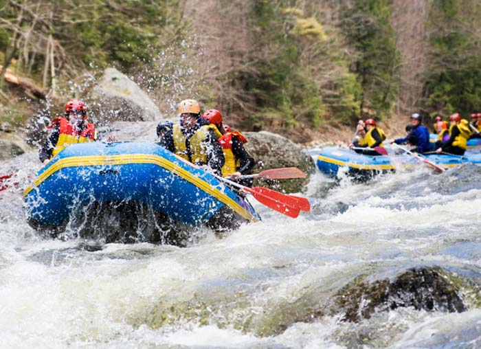 whitewater rafting in the Adirondacks