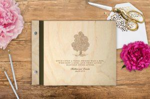adirondack wedding guest book
