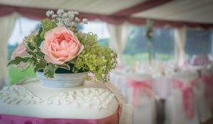 Adirondack wedding cakes can be ordered for Fern Lodge weddings.