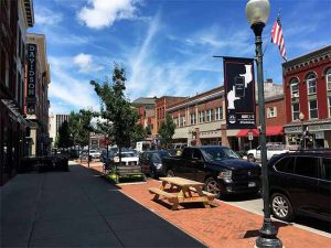 Downtown Glens Falls, NY